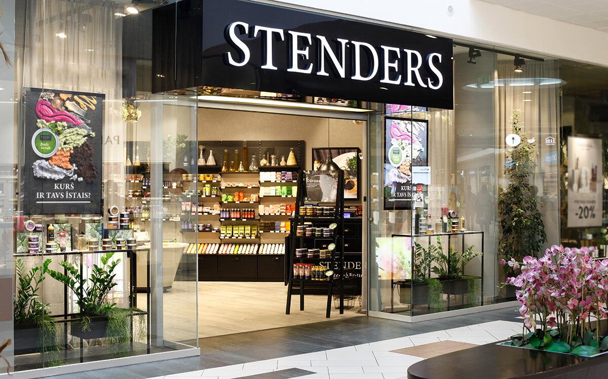 STENDERS veikala foto